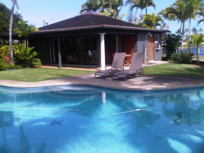 kailua two bedroom vacation rental with pool