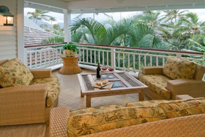 Covered Lanai with ocean view!